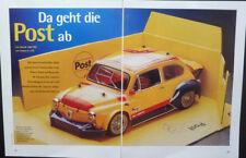 RC-modelo Fiat Abarth 1000 TRC en 1-10 de Tamiya... un informe de modelo
