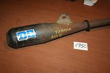 1983 Yamaha ATC YTM 200 Exhaust Muffler Pipe DG 83