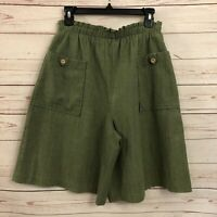 The American Collection by Cricket Lane Vintage Culottes Shorts High Waist Mom