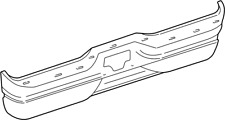 1997-2002 Ford Expedition OEM Rear Bumper F75Z-17906-CA