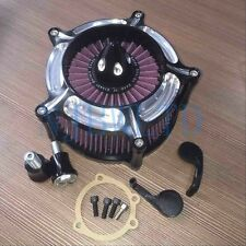 CNC Turbine Air Cleaner Filter For Harley Sportster XL883 XL1200 883N 883R
