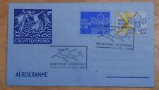 MayfairStamps Vatican 1979 Salvator-Mundi Religious Used Stationery Aerogramme w