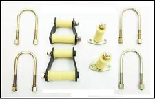hintere Blattfeder Bügel + Stecker+U-BOLZEN+Buchsensatz für Ford Ranger /