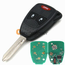 New Uncut Keyless Remote Key Fob 433Mhz ID46 for Chrysler Dodge Jeep FCC M3N