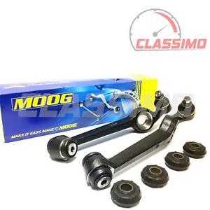 Moog Track Control Arm Pair for FORD ESCORT Mk 4 - all models inc XR3i - 1986-90