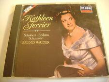 Kathleen Ferrier / Schubert - Brahms - Schumann / Bruno Walter - CD (Decca)