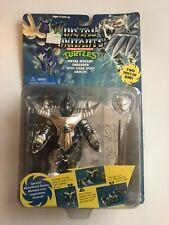 TMNT Metal Mutants Shredder 1995 New Sealed Phoenix Tiger Armor MOC
