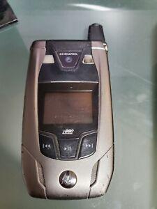 Motorola i880 - Silver (Sprint) Nextel Cellular Phone.Fast Shipping.