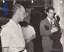Mitchell Leisen directs Barbara Stanwyck Fred MacMurray VINTAGE Photo set candid