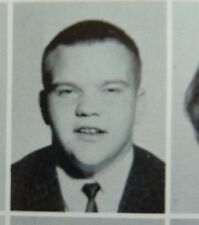 SINGER MEATLOAF 1963  DALLAS THOMAS JEFFERSON HIGH SCHOOL YEARBOOK