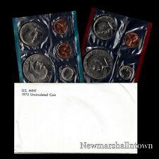 1973 P+D US Mint Set Eisenhower Kennedy Washington Roosevelt Jefferson Lincoln