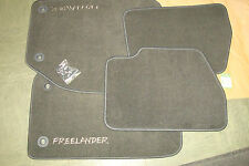 Freelander Floor Mats Genuine STC50153LNF Ash Grey RHD