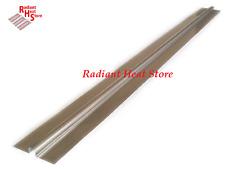 "4 Foot Aluminum Snap-On Omega Radiant Floor Heat Transfer Plates for 1/2"" PEX"
