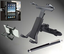 Universal 360 Rotating Car Back Seat Headrest Mount Holder Stand for Pad Tablet