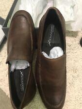Men's Alfani 360 Flex Brown Loafers Shoes 8