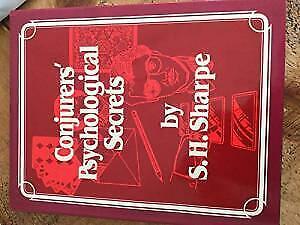 Conjurer's Psychological Secrets by Sharpe, S. H.