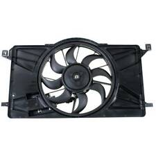 For Ford Focus 12-18 Radiator Condenser Cooling Fan Motor W/ module