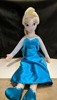 "Plush Stuffed Disney Frozen Movie Elsa 26"" Jay Franco & Sons"