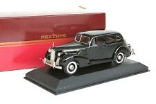 Rextoys 1940 Packard Super Eight 8 Black Diecast 1/43 Rare Made in France