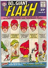 80 Page Giant 4 DC 1964 FN VF Flash Showcase 13 14 90 105 110 115