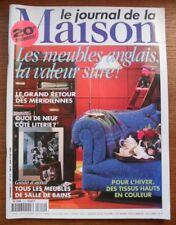 LE JOURNAL de la MAISON  N° 312  de Novembre 1997