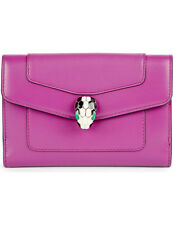 BVLGARI Serpenti, Forever Compact Wallet Orchid Amethyst Ref: 28267