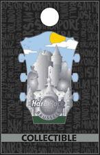 Hard Rock Cafe BRUSSELS 2019 3D Cityscape Headstock Series Core PIN Guitar Head