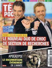 Télé Poche n°2509 du 15/03/2014 Xavier Deluc Franck Sémonin Patrcie Laffont
