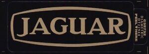 Jaguar Cam Cover Decal