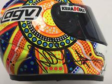 VALENTINO ROSSI Autograph SIGNED Race Replica Mini Helmet 4 AFTAL COA