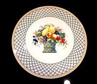Beautiful Villeroy Boch Basket Cake Plate