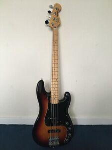Fender Deluxe Active Precision Bass Special - Sunburst, Maple Fretboard