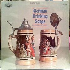 GERMAN DRINKING SONGS : RECORDED LIVE IN MUNICH LP TRADITION (TR 2076) NM PARTY!