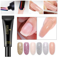 BORN PRETTY 20ml Poly Extension Gel Glittery UV Building Gel Nail Extension DIY