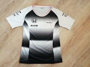 McLaren Honda 2016 Official F1 Racing Team Women's T-Shirt - Size M (used)