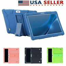 "Para Tablet PC 10.1"" pulgadas Android A Prueba De Golpes Silicona Cases Covers Llano Regalo Usa"