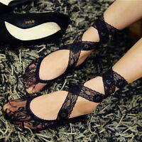 Fashion Girl Lace Antiskid Invisible Socks with Belt Harajuku Lovely Ankle Sock