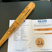 Wade Boggs 1986 Batting Champs Signed Game Used Baseball Bat JSA & MEARS COA