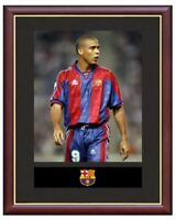 Ronaldo Mounted Framed & Glazed Memorabilia Gift Football Soccer