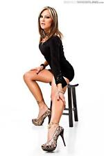 BEAUTIFUL TNA KNOCKOUT VELVET SKY 8X10 PHOTO W/BORDERS WWE WCW ECW