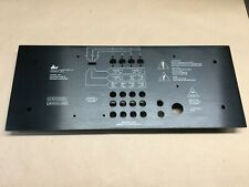 NOS, NEW!  DBX BX-1 Amplifier Back Chassis Plate