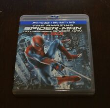 The Amazing Spider-Man 3D (Blu-ray/DVD, 2012, Canadian)