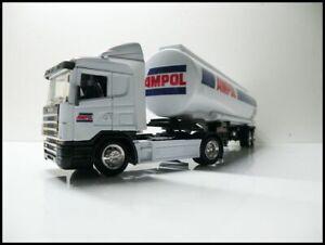AMPOL SCANIA CAB PETROL TANKER OIL TANKER FUEL TANKERS 1/43 TRUCKS