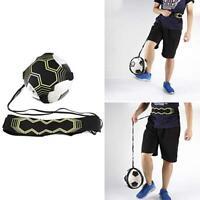 Adjustable Football Kick Trainer Soccer Ball Train Equipment Practice Belt Kit