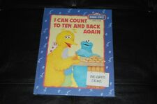 Sesame Street I Can Count to Ten and Back Again HC 1985