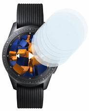 mumbi 6x Folie für Samsung Galaxy Watch 42mm Schutzfolie Displayschutzfolie klar