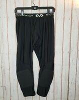 McDavid Unisex Padded Athletic Black Pants sz Large Comfort Waistband