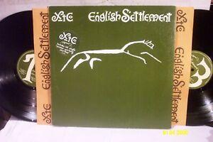 "XTC  2 LP SET ""English Settlement"" ORIGINAL VIRGIN RECORDS w Sleeves EX/NM"