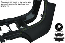 GREEN STITCH DASH CENTER CONSOLE LEATHER COVER FITS CHRYSLER CROSSFIRE 03-08
