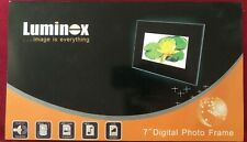 "Luminox 7"" Digital Picture Frame with Remote, Boxed."